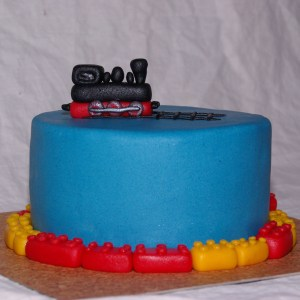 lego märklin taart