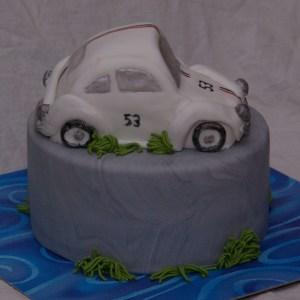 Herbie auto taart