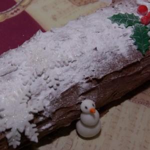 kerstboomstam taart kersttaart stammetje yule log