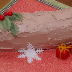 kerst boomstammetje taart kersttaart yule log