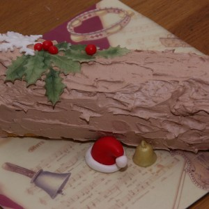 kerstboomstam taart stammetje yule log kersttaart