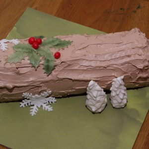 kerstboomstam taart yule log stammetje kersttaart