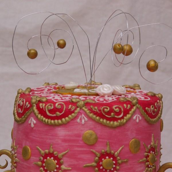 oilily margaret braun inspired cake