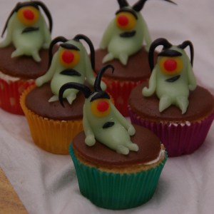 spongebob squarepants cupcakes plankton