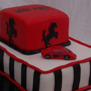 ferrari taart
