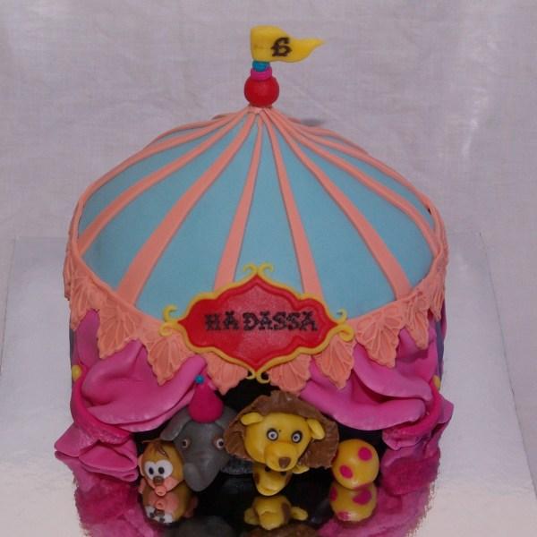 circus cake circustaart