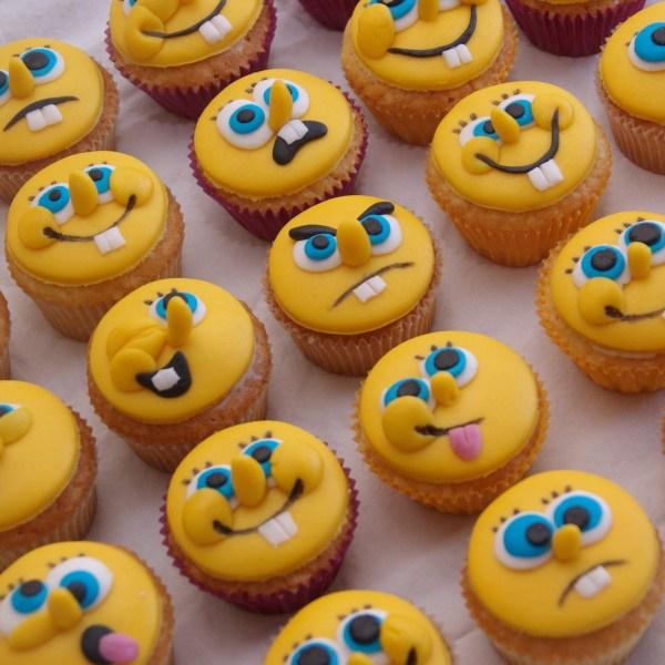 spongebob squarepants cupcakes
