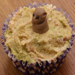 dierencupcakes stokstaartje