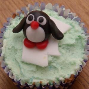 dierencupcakes pinguin