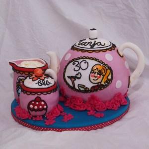blond amsterdam thee servies taart