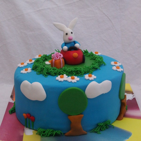 Hopla konijn taart