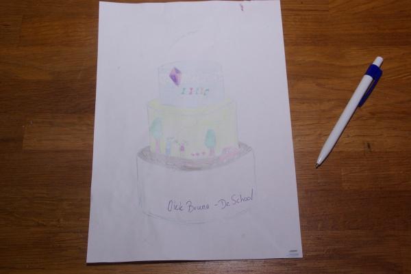 sketch taartwedstrijd thema verkeer