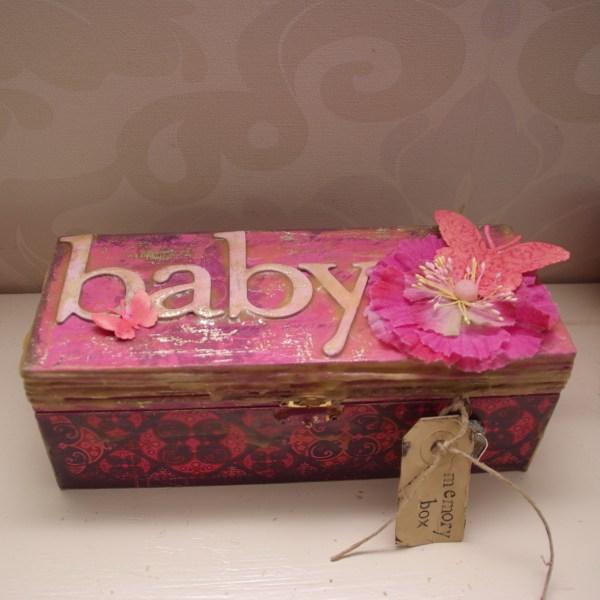 baby memorybox, mixed media gebruiksvoorwerp rotterdam nesselande comfy cosy