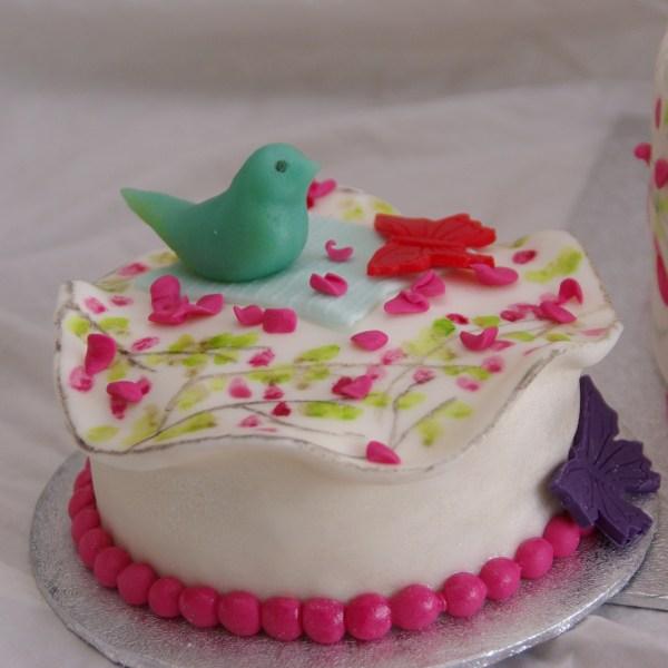 geboortekaartje taart met bijpassend meppertje