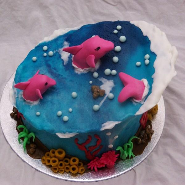 dolfijnen taart bestellen rotterdam nesselande