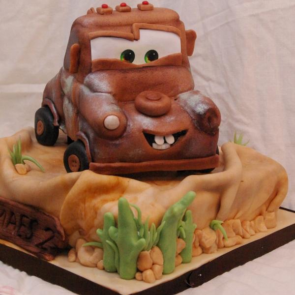 cars takel taart