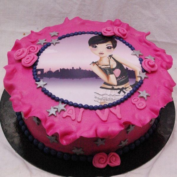 topmodel taart