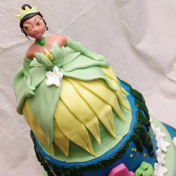 prinses en de kikker taart