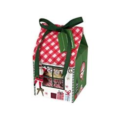 cupcake box merry & bright