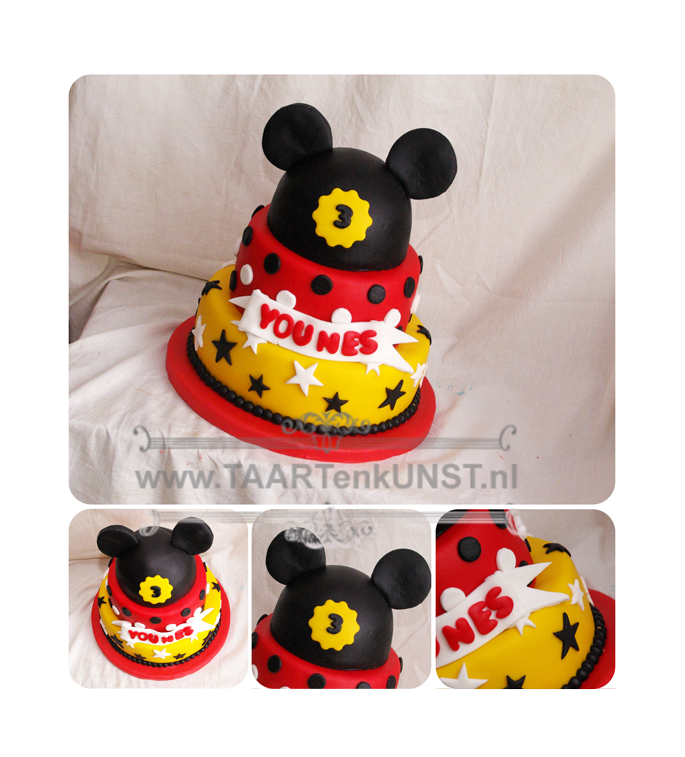 mickey-mouse-taart