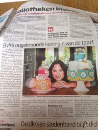 algemeen dagblad TAART & kUNST