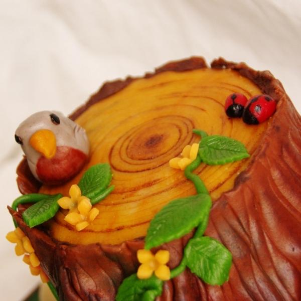 boom stronk taart