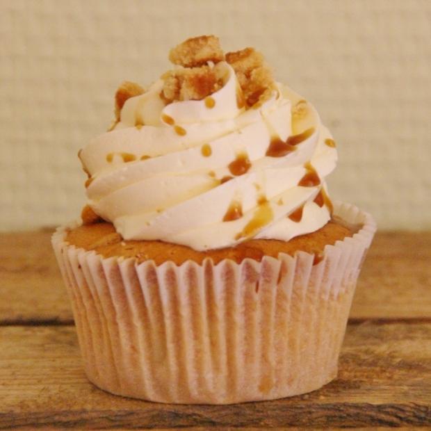 stroopwafel cupcake