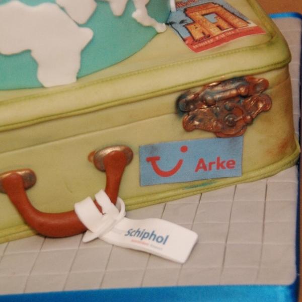 luchtvaarmaatschappij Arke 10 jaar op Schiphol