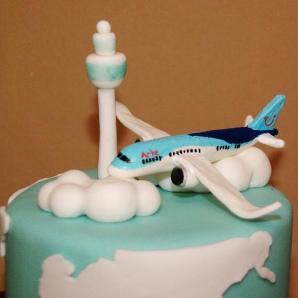luchtvaarmaatschappij Arke 10 jaar