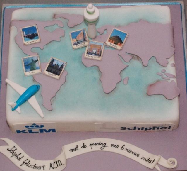 Schiphol feliciteert KLM met 6 nieuwe bestemmingen