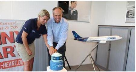Schiphol feliciteert Air Transat