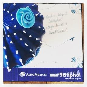 Schiphol feliciteert AeroMexico