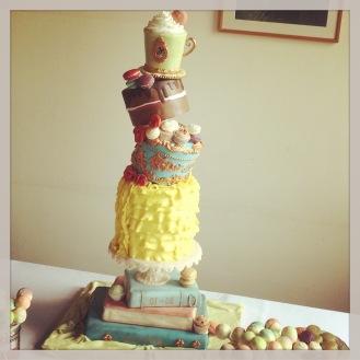 disney inspired weddingcake